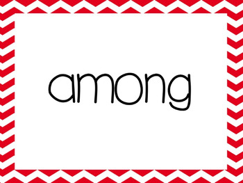 Second Grade 2nd Red Words Power Point (aligned with American Reading Company)