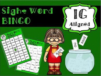 IRLA ALIGNED 1G Power Word BINGO
