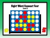 IRLA Aligned Connect Four Sight Word Recognition Game - Level 2