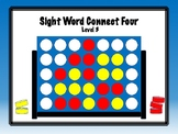 IRLA Aligned Connect Four Sight Word Recognition Game - Level 3