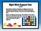 IRLA Aligned Connect Four Sight Word Recognition Game - Level 4