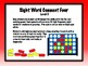 IRLA Aligned Connect Four Sight Word Recognition Game - Level 5