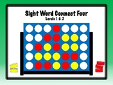 IRLA Aligned Connect Four Sight Word Recognition Game - Le
