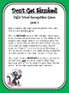 IRLA Aligned Don't Get Skunked Sight Word Recognition Game - Level 2
