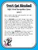 IRLA Aligned Don't Get Skunked Sight Word Recognition Game - Level 3