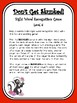 IRLA Aligned Don't Get Skunked Sight Word Recognition Game - Level 6