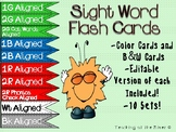 IRLA Aligned Power Sight Words Flash Cards Bundle w/ Edita