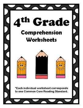4th Grade CCSS Comprehension Assignments (Correlated to American Reading Co)