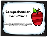 4th Grade Comprehension Task Cards Aligned to American Rea