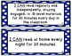 """1st Grade """"I Can"""" Statements Correlated to American Reading Company IRLA"""