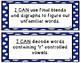 """1st Grade """"I Can"""" Statements Correlated to American Readin"""