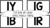 IRLA Book Bin Labels - black and white