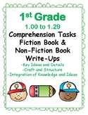 1st Grade 1.00-1.29 Comp Tasks - All 3 Aligned to American Reading Co IRLA