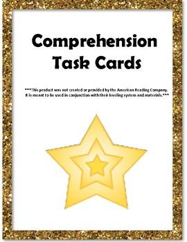 IRLA - Gl (Gold) Comprehension Task Cards