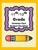 11th/12th Grade CCSS Student Checklists (Correlated to American Reading Co IRLA)
