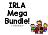 IRLA Mega Bundle -Word Wall Cards and Bonus! Whole group cards! 1G-2R
