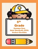 5th Grade CCSS Student Checklists (Correlated to American Reading Company IRLA)
