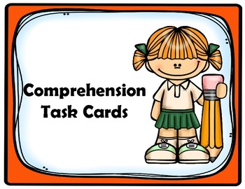 5th Grade Comprehension Task Cards Aligned to American Reading Company