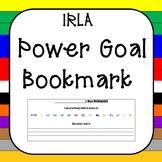 IRLA Power Goal Bookmark