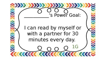 IRLA Power Goal Preview 1-3Y- Black