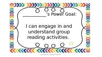 IRLA Power Goal Student Pack 1-3Y through 2G