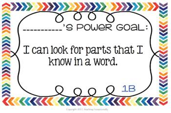 IRLA Power Goal Student Pack BUNDLE