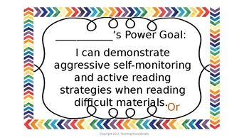 IRLA Power Goal Student Pack Orange and Purple Levels