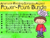 Sight Word Power Point Bundle (IRLA by American Reading Co