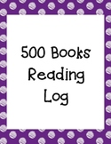 IRLA - RTM 500 Books Reading Log