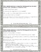 9th & 10th Grade Comprehension Task Cards Correlated to Am