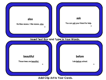 IRLA Tricky Word Cards with Phrases