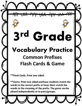 3rd Grade Vocab Practice Qs, Cards, & Games Aligned to American Reading Co IRLA