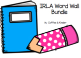 IRLA Word Wall Bundle 1G-White aligned With ARC