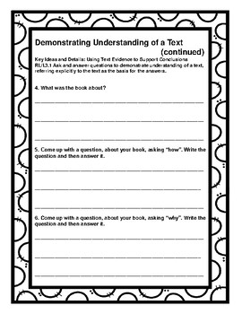 3rd Grade CCSS Comprehension Assignments (Correlated to American Reading Co)