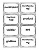 3rd Grade O-Word Families FlashCcards (Aligned to American Reading Co IRLA)