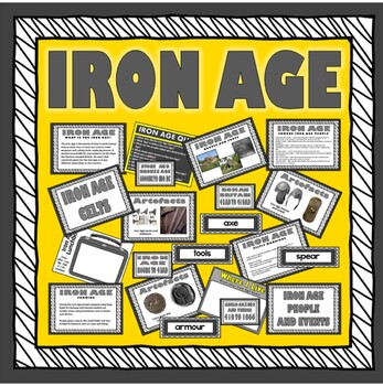 IRON AGE TEACHING RESOURCES HISTORY KEY STAGE 2 TOOLS WEAP