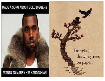IRONY IN LITERATURE