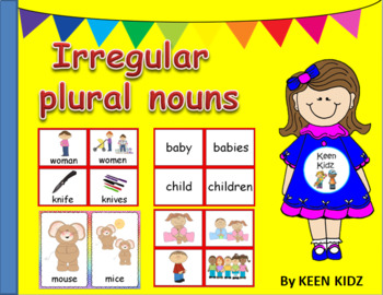 IRREGULAR PLURAL NOUNS MATCHING