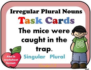 Irregular Plural Nouns