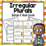 IRREGULAR PLURALS Task Cards and Games
