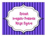 IRREGULAR PRETERITE MAGIC SQUARE