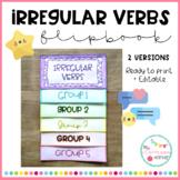 IRREGULAR VERBS - Flipbook
