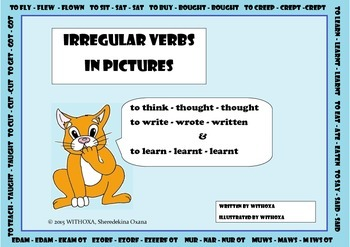 IRREGULAR VERBS IN PICTURES
