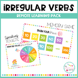 IRREGULAR VERBS - Remote learning pack