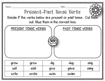 IRREGULAR Verbs  (a mini-unit)