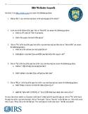 IRS: Internal Revenue Service Website Search-Tax Unit!