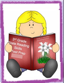 Iread Test Prep 3rd Grade Packet 1 and Packet 2 BUNDLE