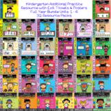 IReady Math Complete Full Year Bundle Kindergarten Units 1 - 6