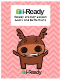 IReady Weekly Goals and Reflection