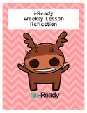 IReady Weekly Lesson Reflection